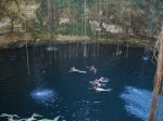 Swimming in a Cenote